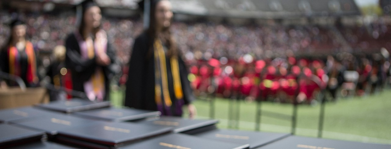 photo of college degrees from the University of Cincinnati